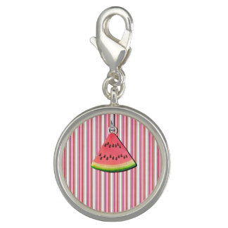 Watermelon Stripes Charm