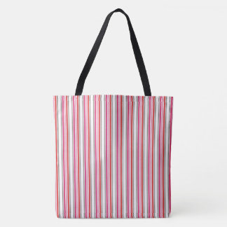 Watermelon Stripes Tote Bag