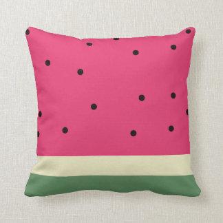 Watermelon Summer Fun Fruit Throw Pillow