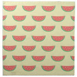 watermelon summer pattern napkin