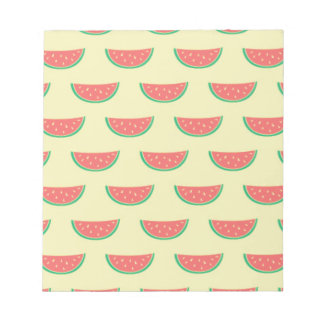 watermelon summer pattern notepad