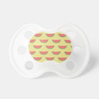 watermelon summer pattern pacifier