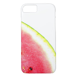 Watermelon summer trendy fruit photo pink green Case-Mate iPhone case