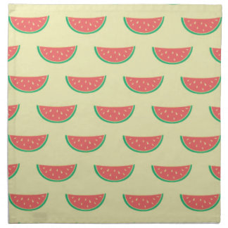 watermelon summertime pattern napkin