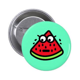 Watermelon Sweat 2 Inch Round Button
