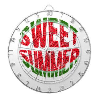 Watermelon - sweet summer dartboard
