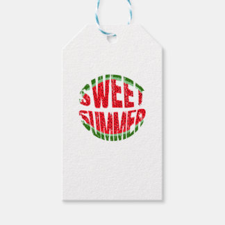 Watermelon - sweet summer gift tags