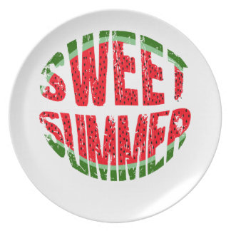Watermelon - sweet summer plate
