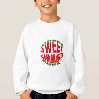 Watermelon - sweet summer sweatshirt