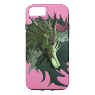 Watermelon Tourmaline Dragon iPhone 8/7 Case