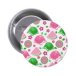 Watermelon Turtles Pattern Pin