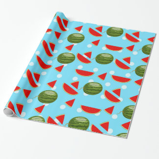 Watermelon With Slice Wrapping Paper
