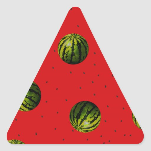watermelons and seeds red products sticker