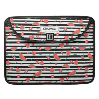 Watermelons and stripes sleeve for MacBooks