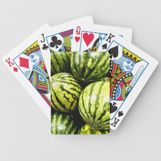 Watermelons Bicycle Playing Cards
