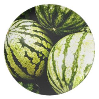 Watermelons Dinner Plate