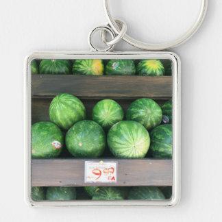 Watermelons for Sale Corner Bodega NYC Photograph Keychain
