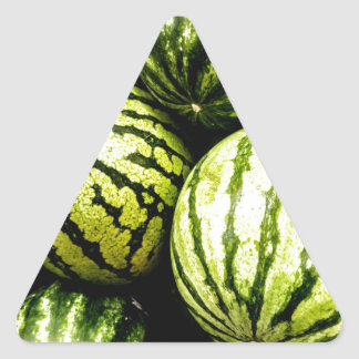 Watermelons Triangle Sticker