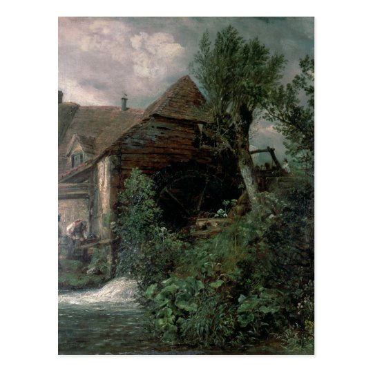 Watermill at Gillingham, Dorset Postcard