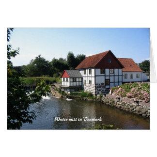 Watermill in Denmark Notecard