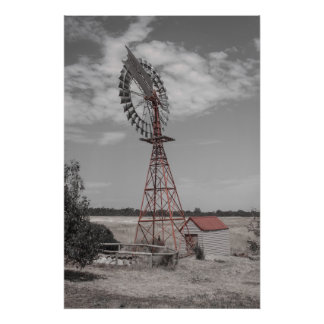 Watermill photo print