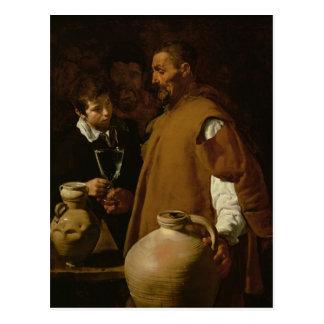 Waterseller of Seville, c.1620 Postcard