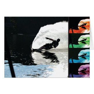 Waterski Card