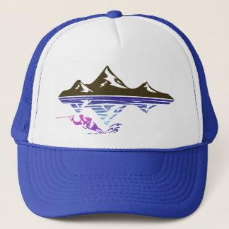 waterskier trucker hat