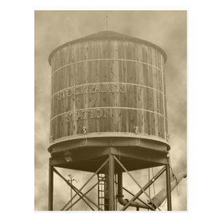 Watertank Postcard