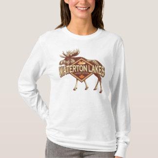 Waterton Lakes Moose T-Shirt