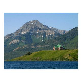 Waterton Lakes National Park Prince Of Wales Hotel Postcard