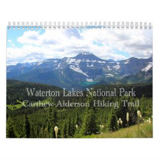 Waterton Lakes National Park Wall Calendars