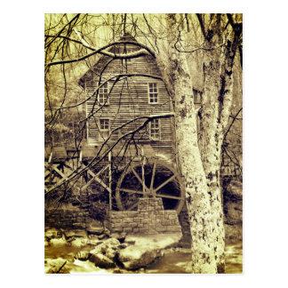 Waterwheel Postcard