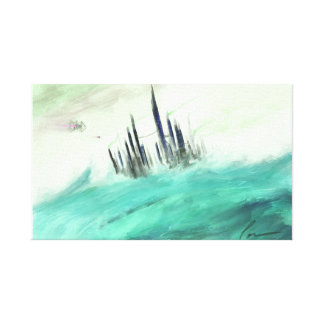 Waterworld Canvas Print