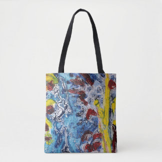 Watery flowers bag