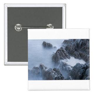 Watery Rocks Pin