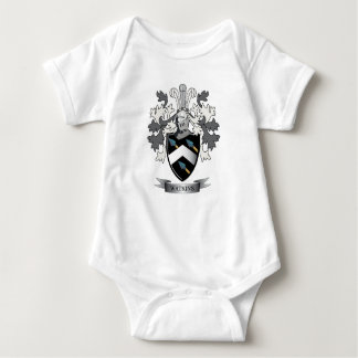 Watkins Family Crest Coat of Arms Baby Bodysuit