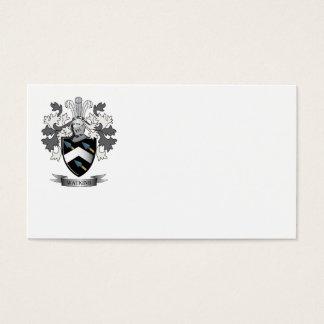 Watkins Family Crest Coat of Arms Business Card