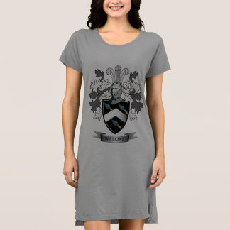 Watkins Family Crest Coat of Arms Dress