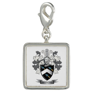 Watkins Family Crest Coat of Arms Photo Charms
