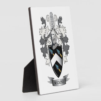 Watkins Family Crest Coat of Arms Plaque