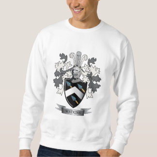 Watkins Family Crest Coat of Arms Sweatshirt