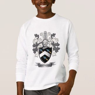Watkins Family Crest Coat of Arms T-Shirt