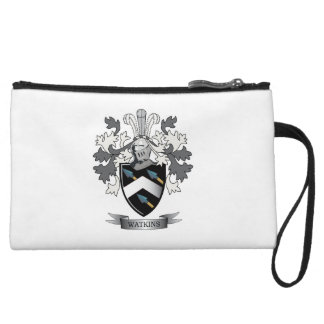 Watkins Family Crest Coat of Arms Wristlets