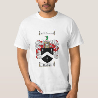 Watkins Family Crest - Watkins Coat of Arms T-Shirt