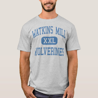 Watkins Mill - Wolverines - Montgomery Village T-Shirt