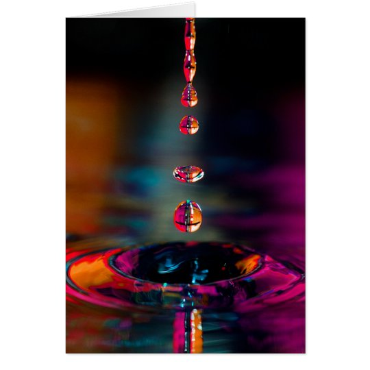Watrer Drop - Pretty Drop Card