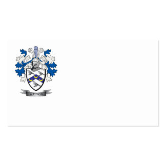 Watson Coat of Arms Business Card
