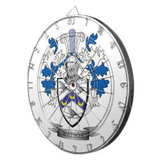 Watson Coat of Arms Dart Boards