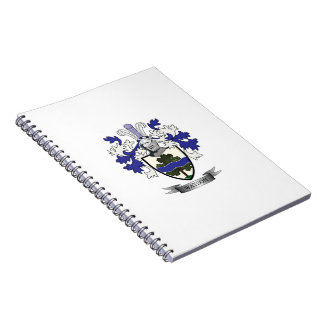 Watson Family Crest Coat of Arms Notebook